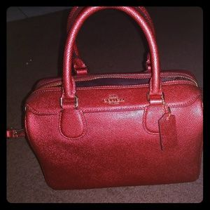 Coach hand bag mini satchel